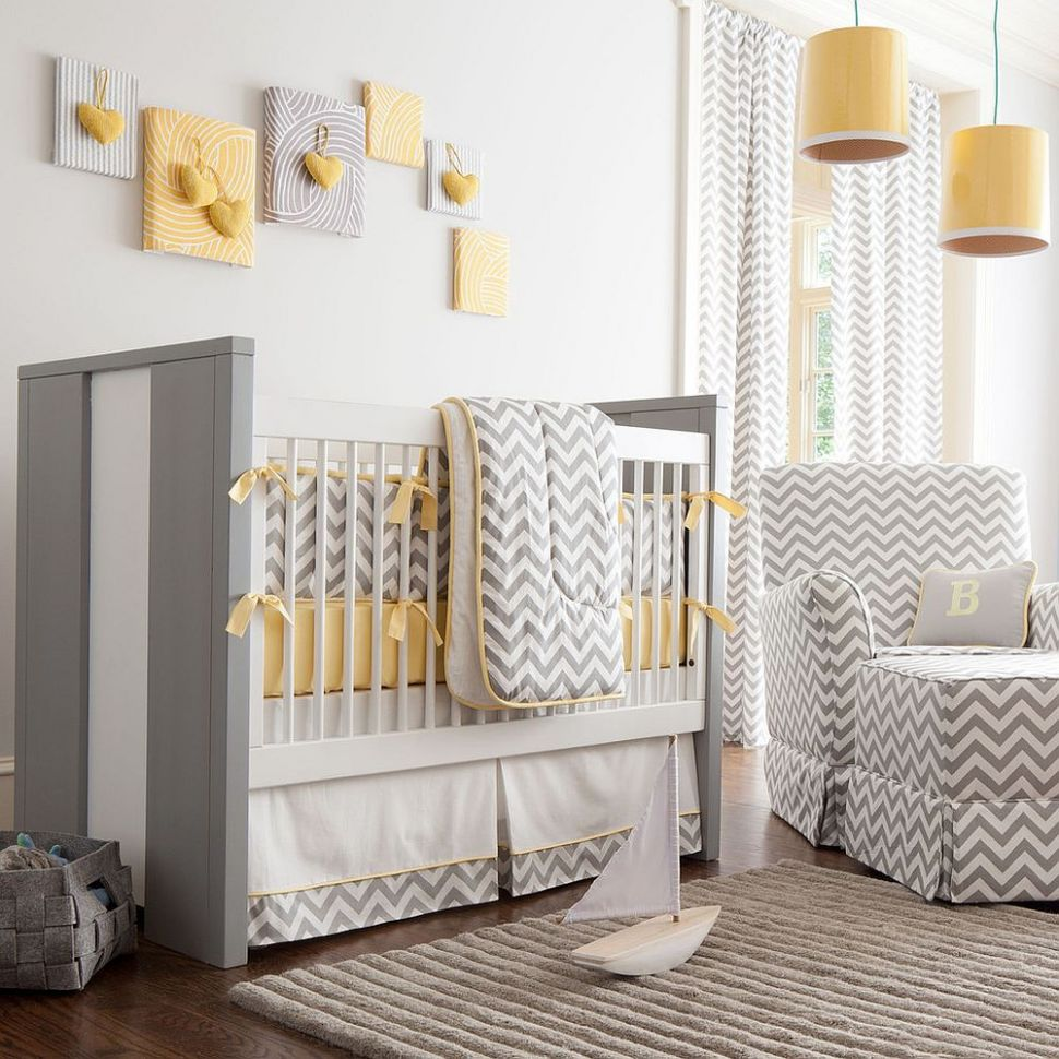 12 Gray and Yellow Nursery Designs with Refreshing Elegance