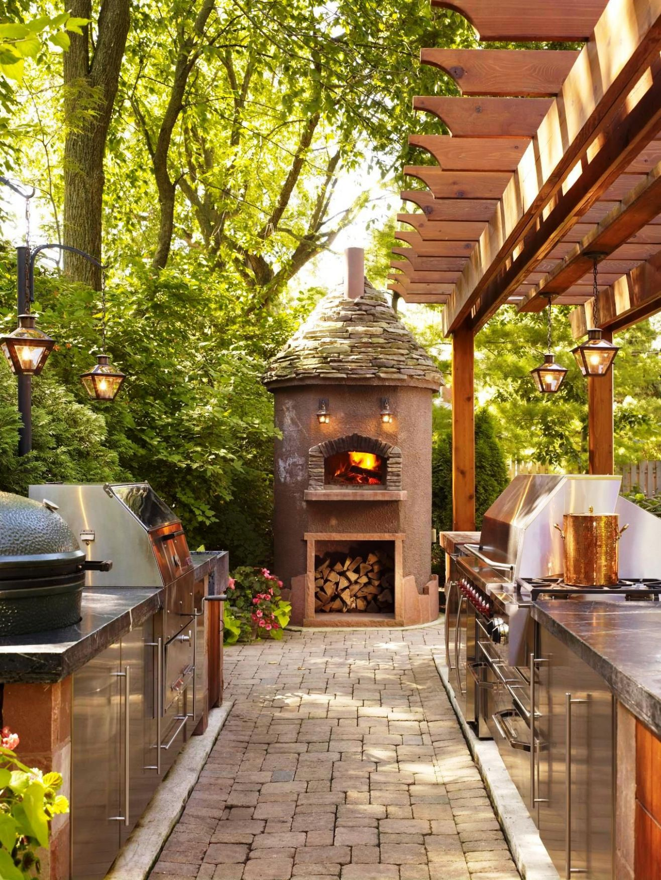 12 grill setups that will leave you salivating | Backyard, Outdoor ..