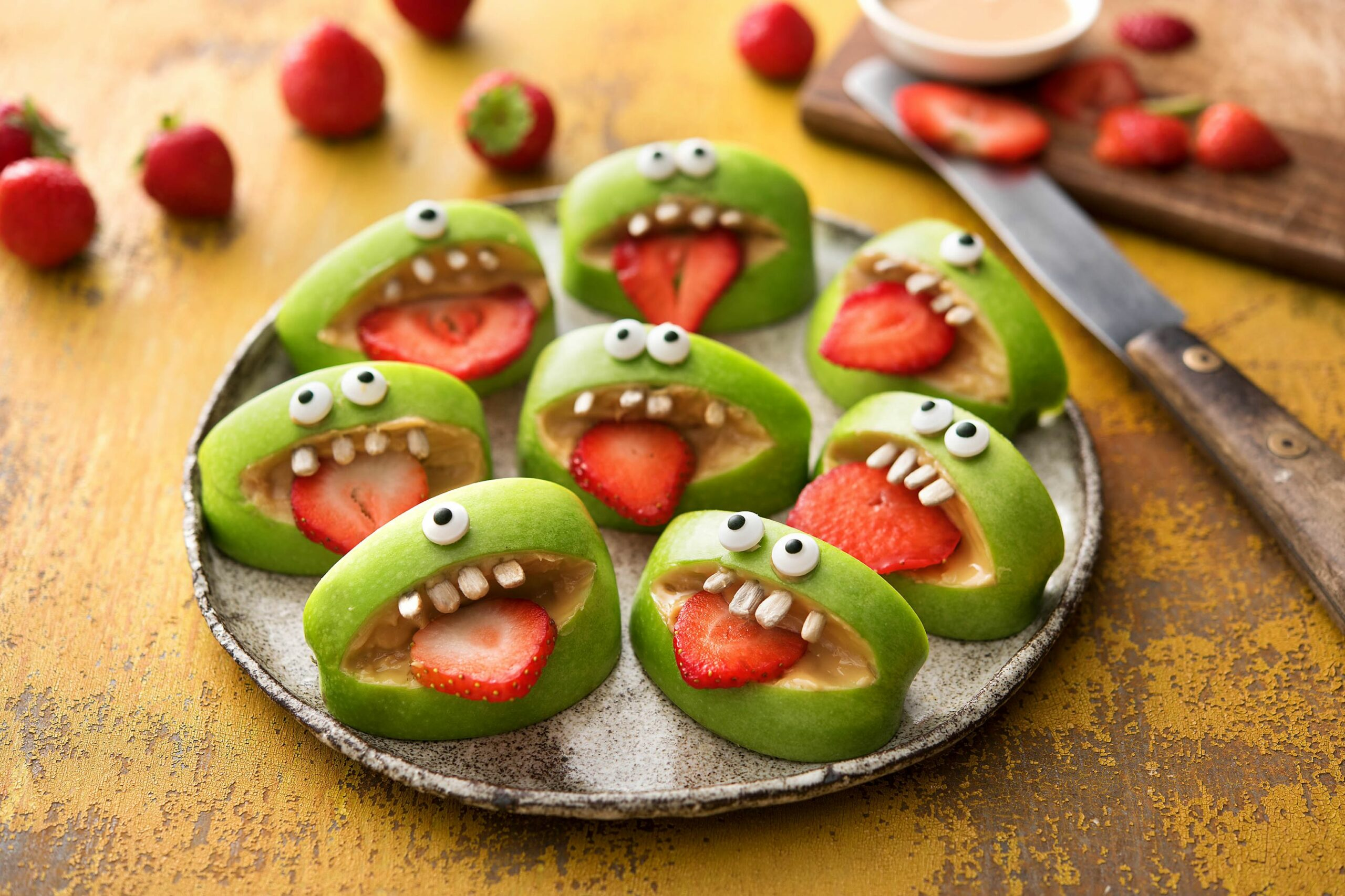 12 Healthy Halloween Snacks For The Kids - halloween vegetable ideas