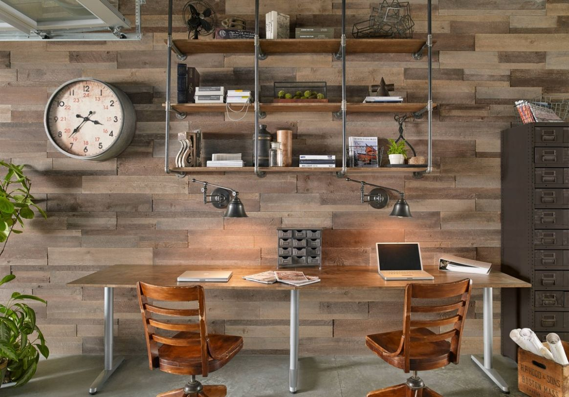 12 Inspiring Industrial Style Home Offices That Sport Beautiful ..