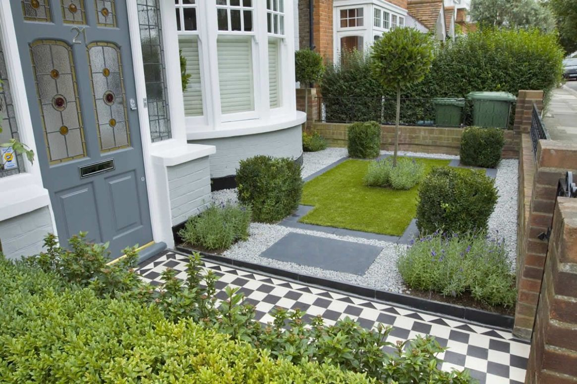 12 Landscape Design For Small Spaces | Small front gardens, Small ..