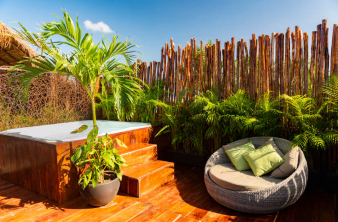 12 Landscaping Ideas For Privacy Around Your Pool - pool privacy ideas