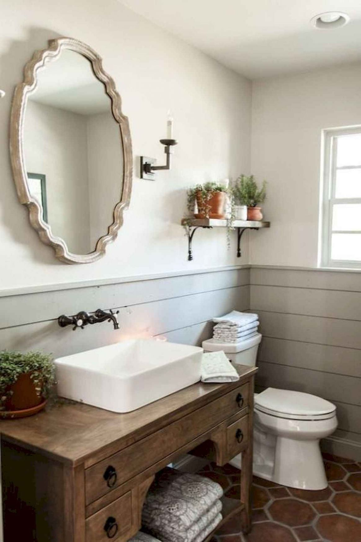 12 Lighting For Farmhouse Bathroom Ideas Decorating And Remodel (12 ...