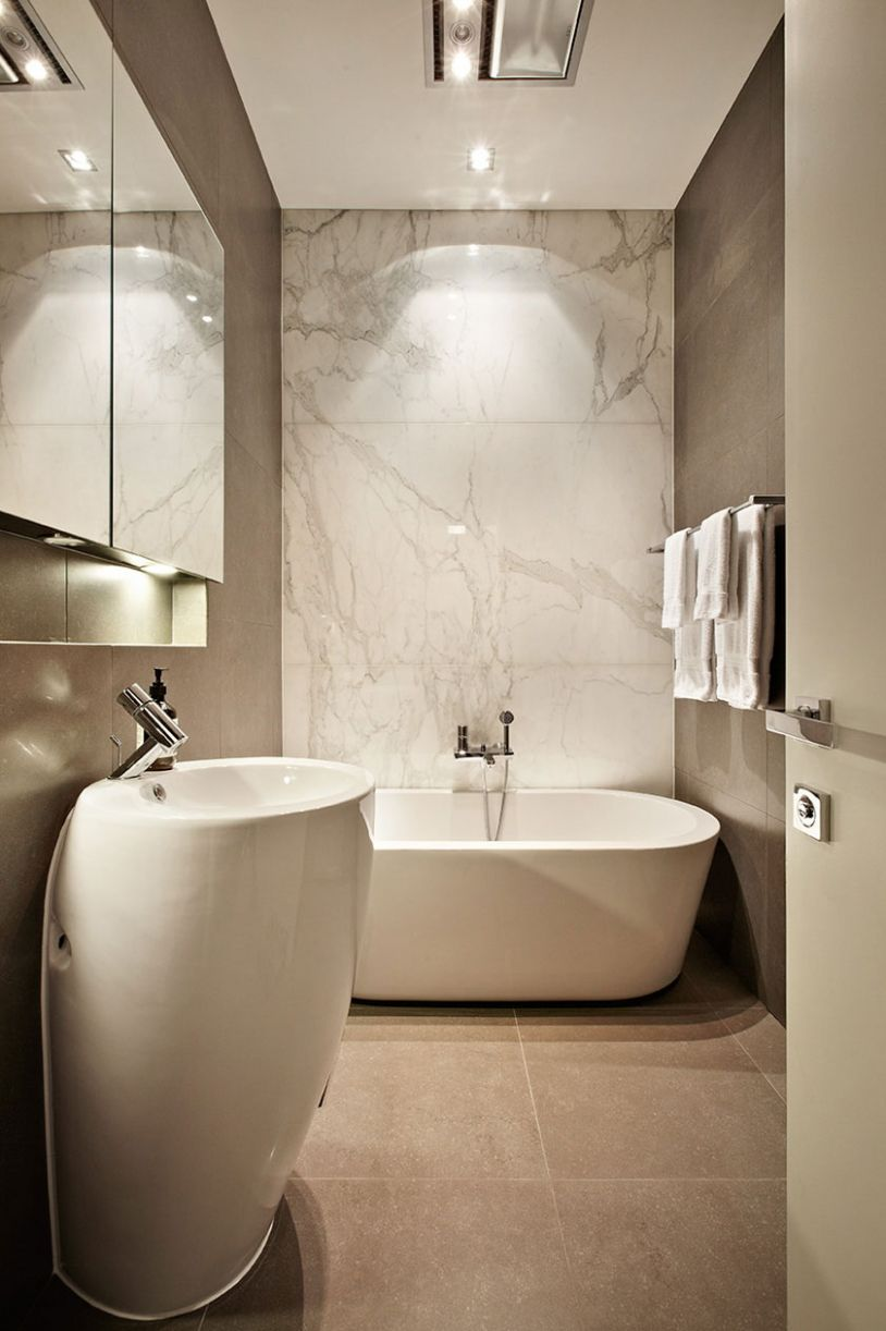 12 Marble Bathroom Design Ideas Styling Up Your Private Daily ...