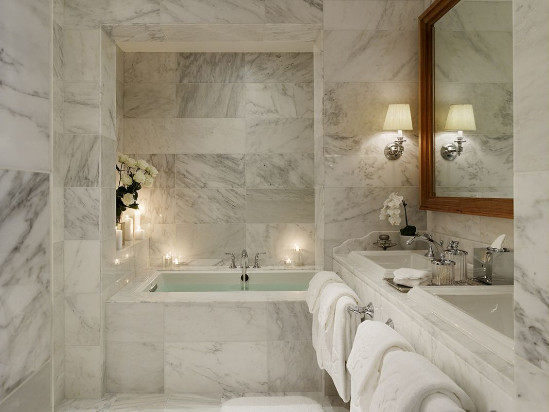12 Marble Bathroom Design Ideas Styling Up Your Private Daily ..