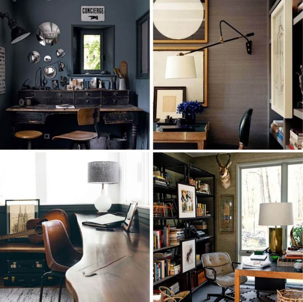 12 Midcentury Home Office Ideas | Decor Or Design - home office ideas mid-century modern