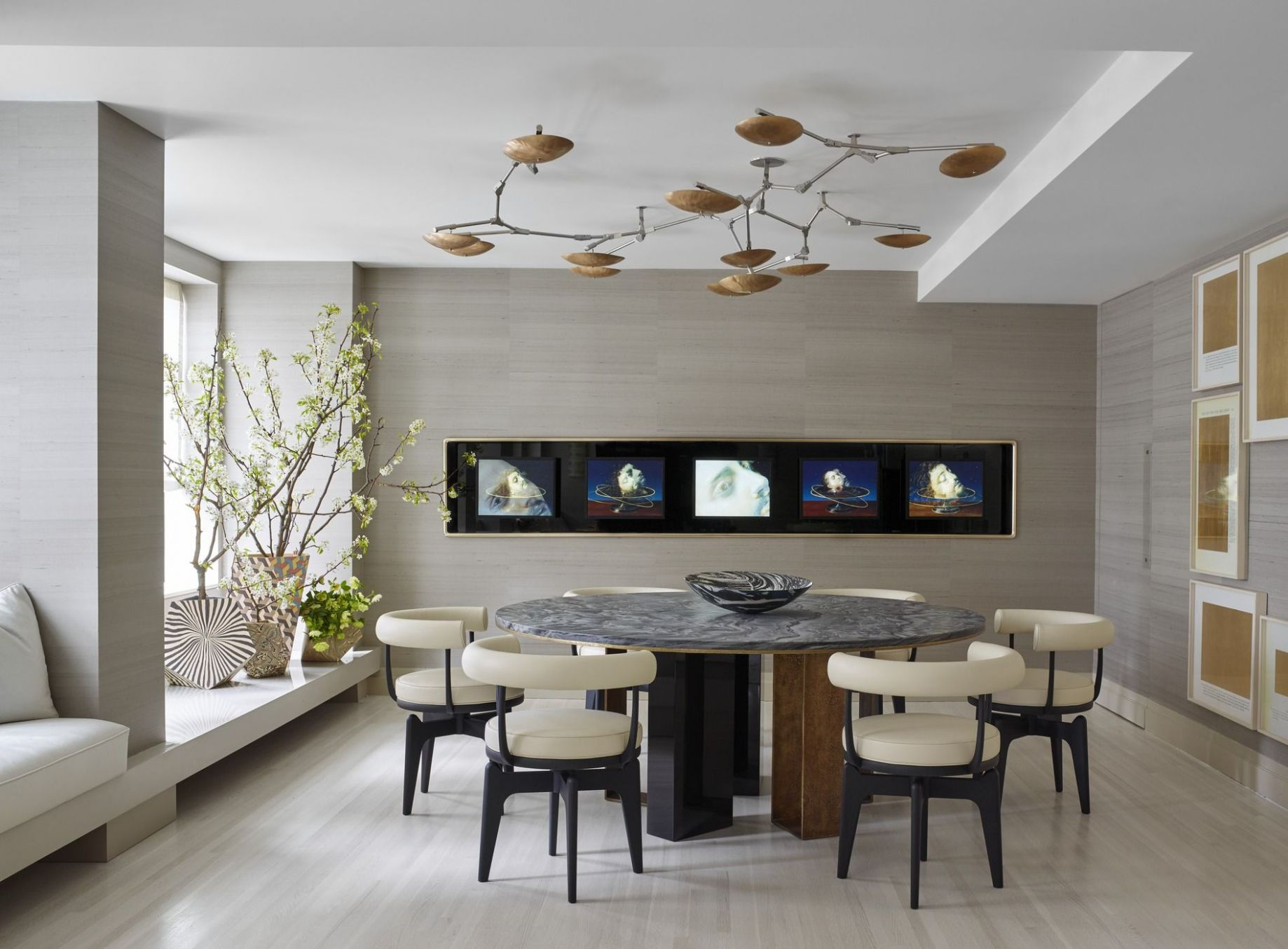 12 Modern Dining Room Decorating Ideas - Contemporary Dining Room ...