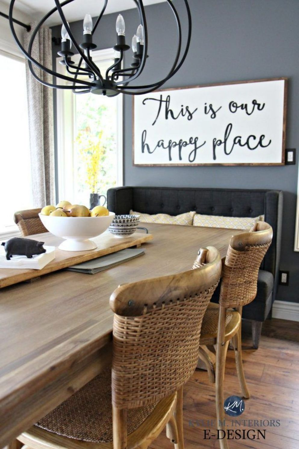 12 Nice Dining Room Wall Decor Ideas - BELIHOUSE