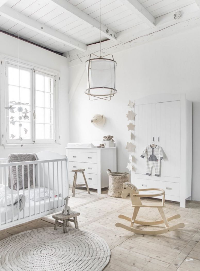 12 of the loveliest Scandinavian inspired baby nurseries (med ..