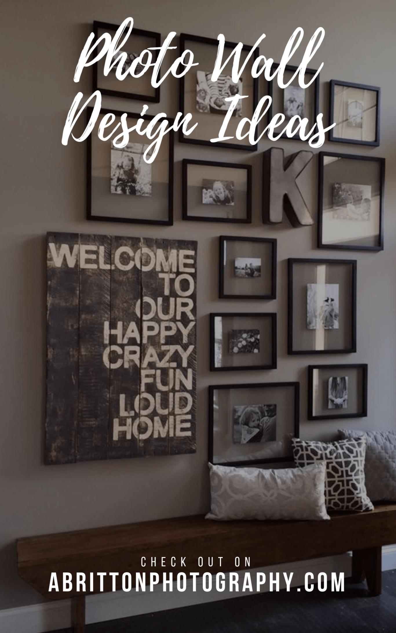 12+ Photo Wall Ideas (A Guide on How to Display, Design Tips ...