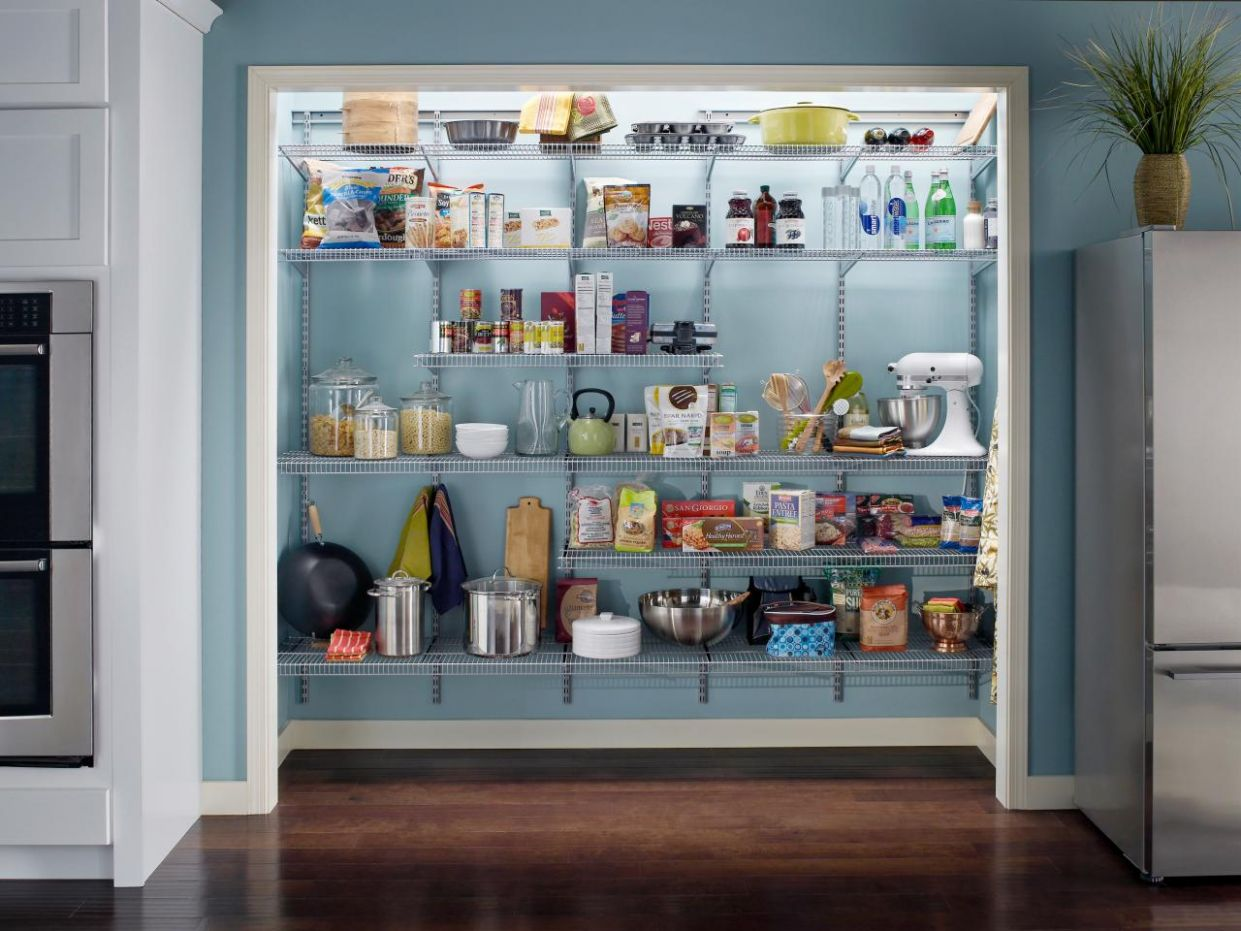 12 Pictures of Kitchen Pantry Designs & Ideas - closet arrangement ideas