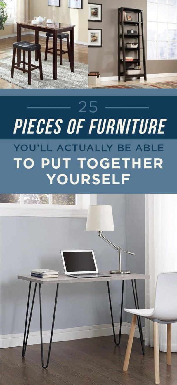 12 Pieces Of Furniture You'll Actually Be Able To Put Together ...