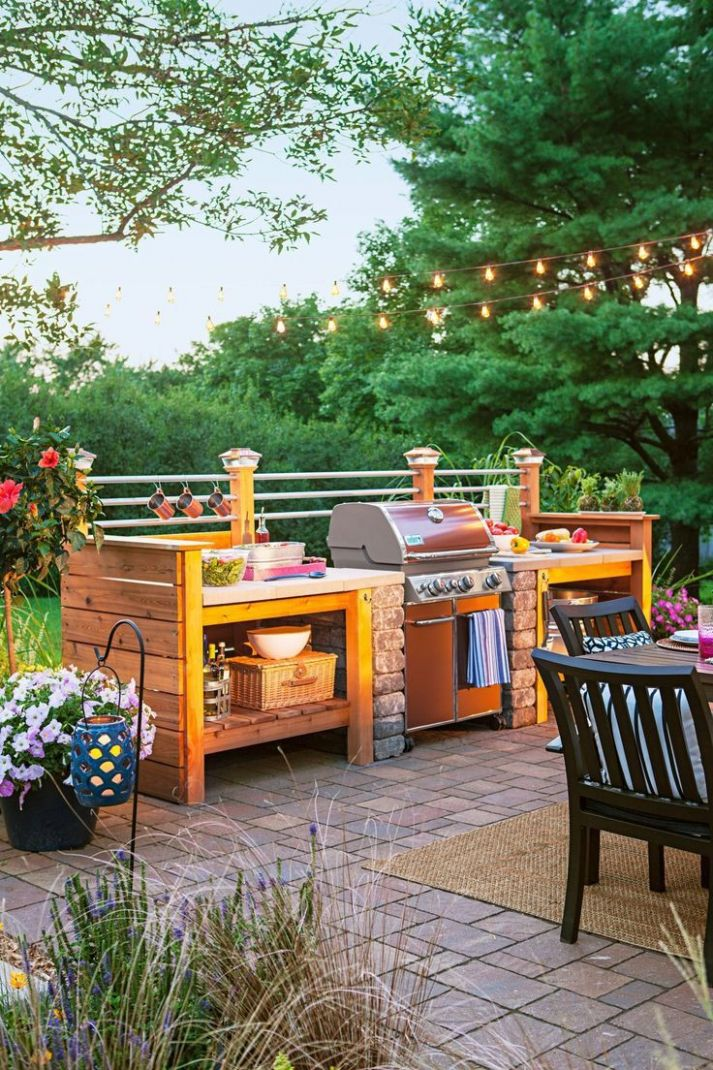 12 Plans to Make a Simple Outdoor Kitchen | Build outdoor kitchen ..