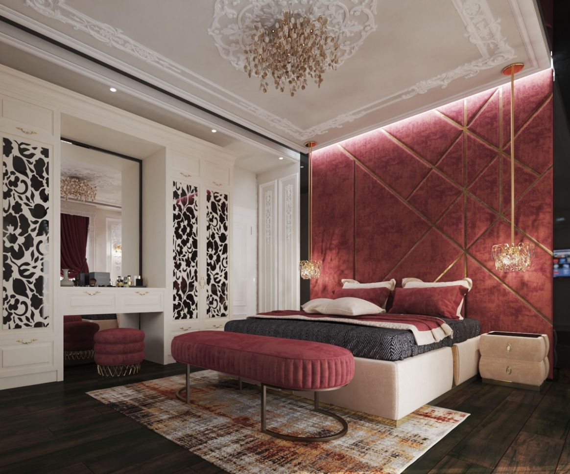 12 Red Bedrooms With Tips And Accessories To Help You Design Yours - bedroom ideas red