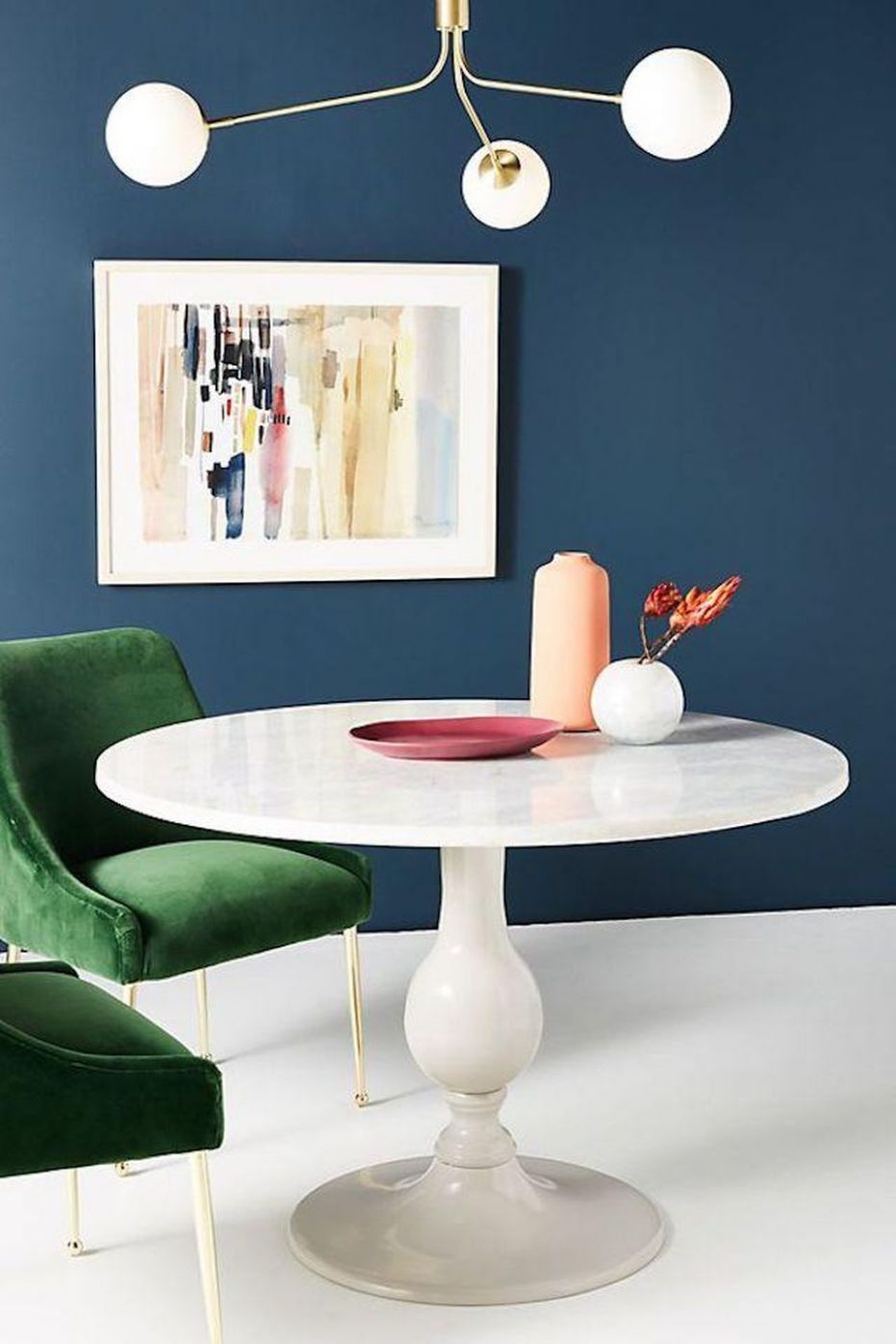12 Round Dining Room Tables Perfect For Small Spaces - dining room ideas with round table