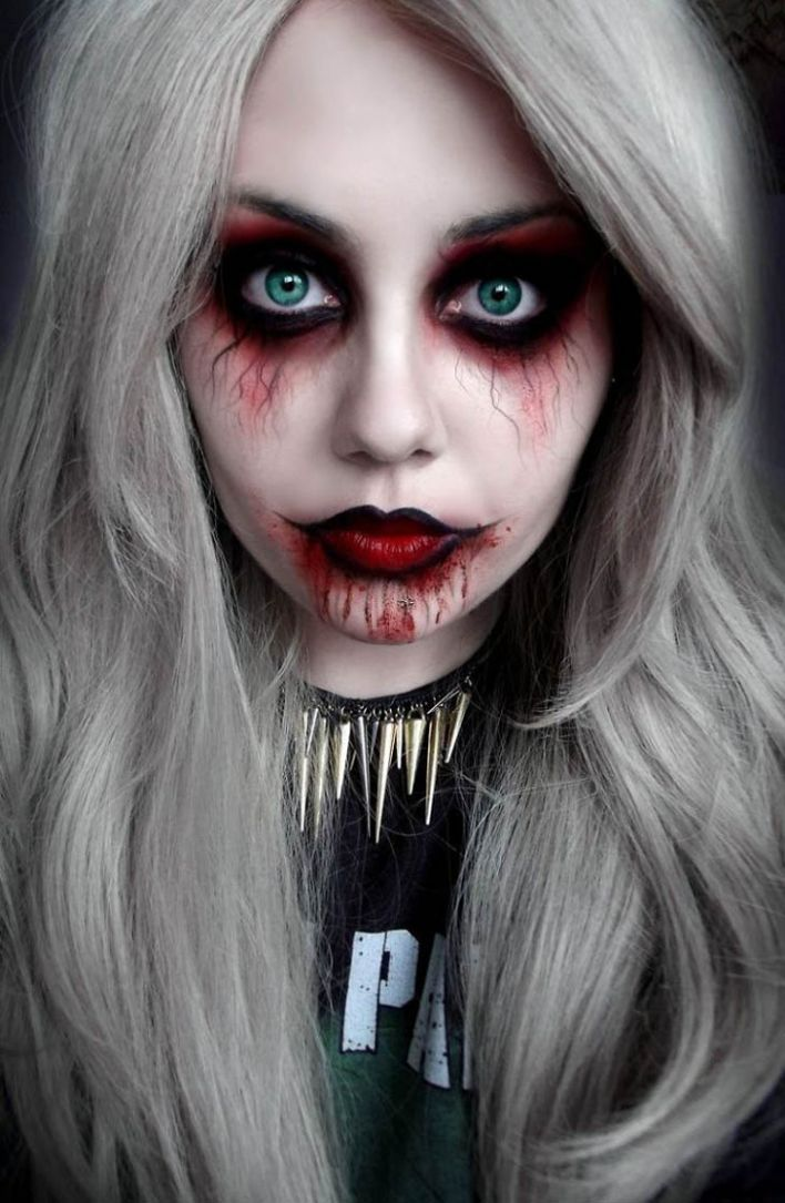 12 Scary Halloween Makeup Ideas That Look Too Real!