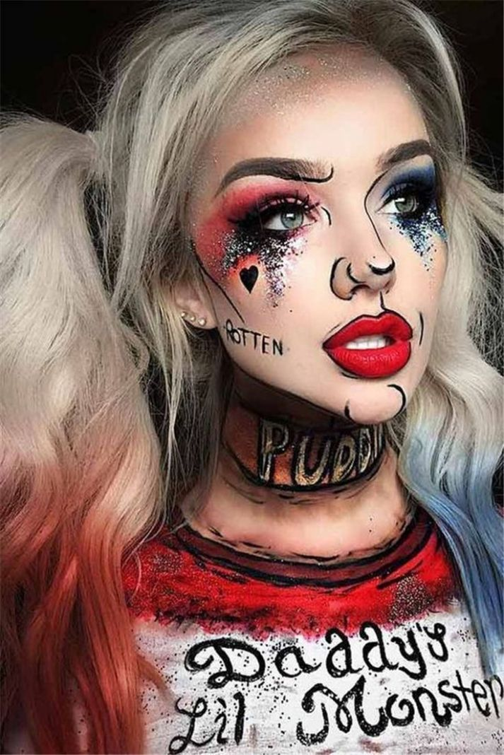 12 Scary Halloween Makeup Looks You Should Try This Year ..