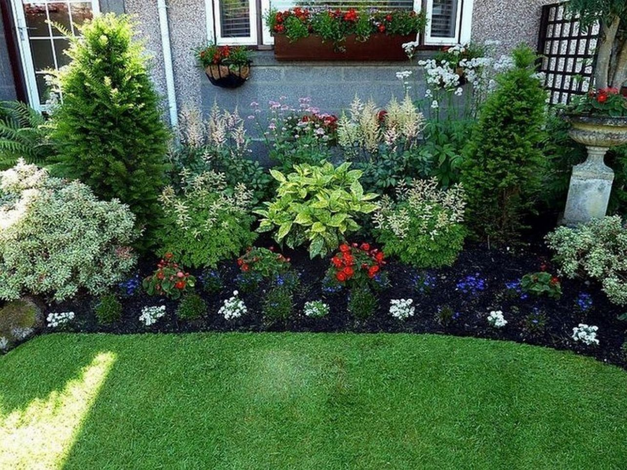 12 Simple and Beautiful Front Yard Landscaping Ideas on A Budget ..