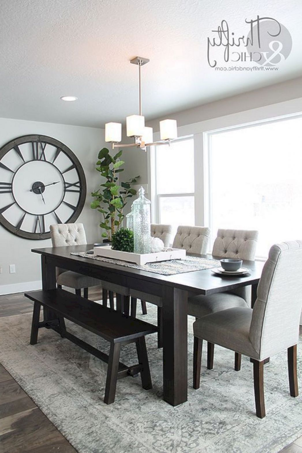 12 Simple and Minimalist Dining Table Decor Ideas | Dining room ...