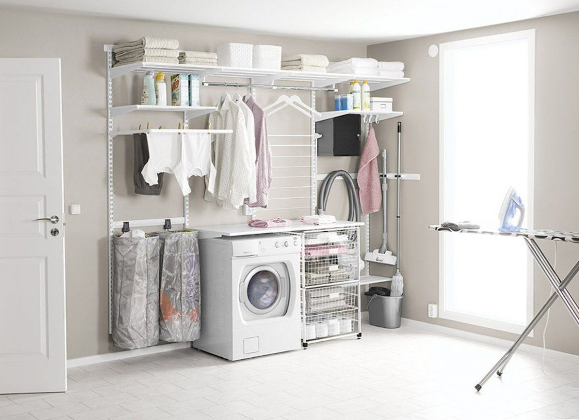 12 Simply Genius Ideas for Laundry Room Storage | Laundry room ...