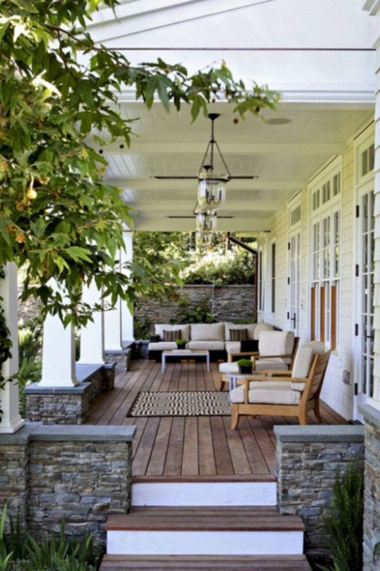 12+ Smart & Pretty Front Porch Decor Ideas | Veranda design ...