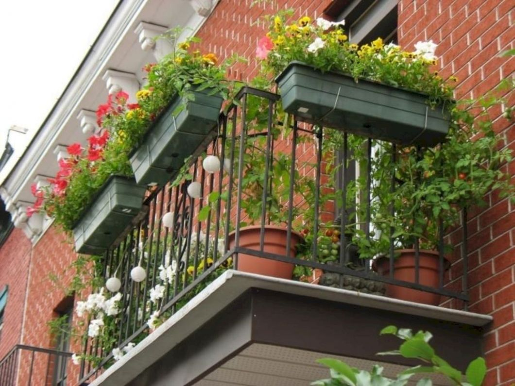12 Space Saving Ideas Beautiful Balcony Designs with Modern ...