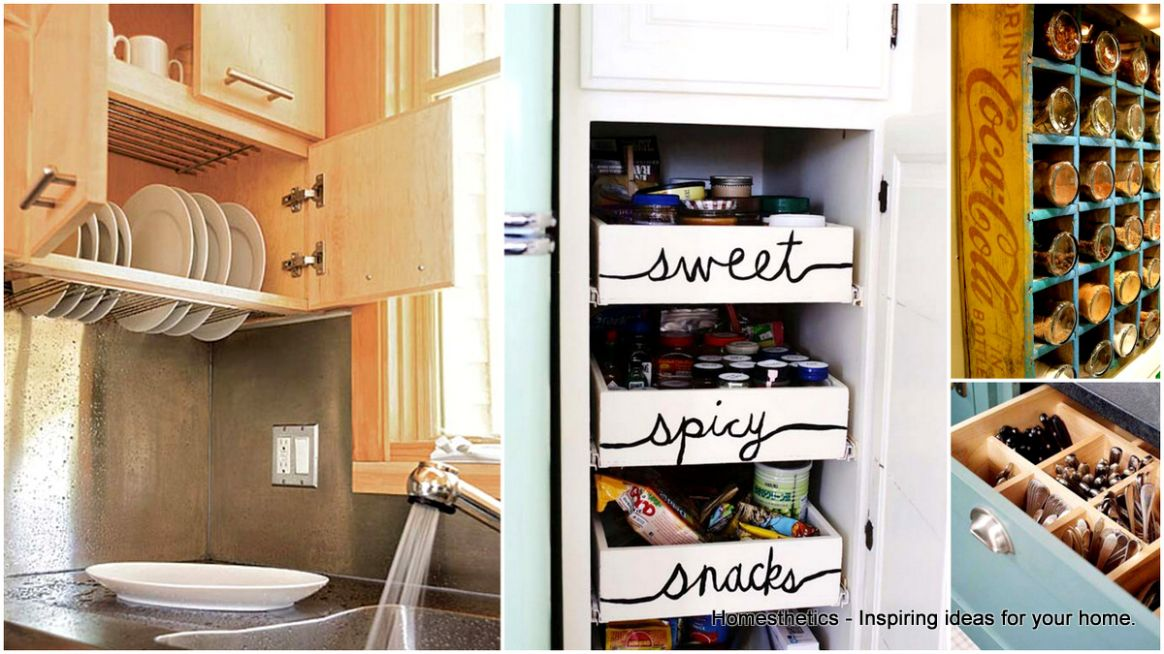 12 Super Epic Small Kitchen Hacks For Your Household ..