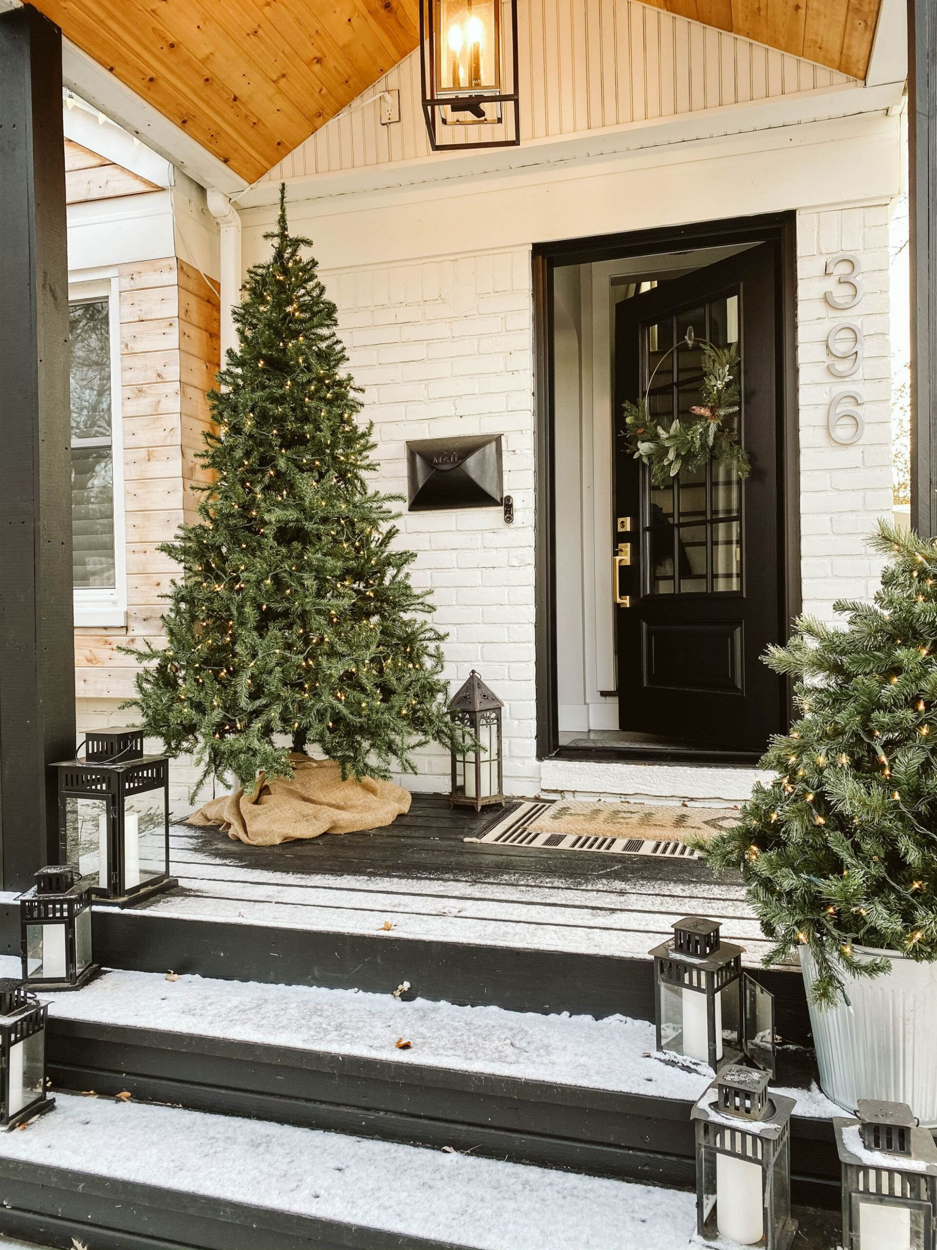 12+ Surprising Winter Front Porch Decorating Ideas You Need To Try ..