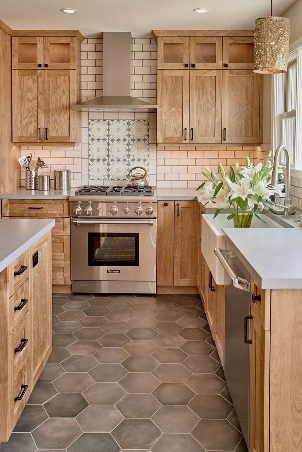12 The Best Modern Farmhouse Kitchen Design Ideas To Blend Modern ...
