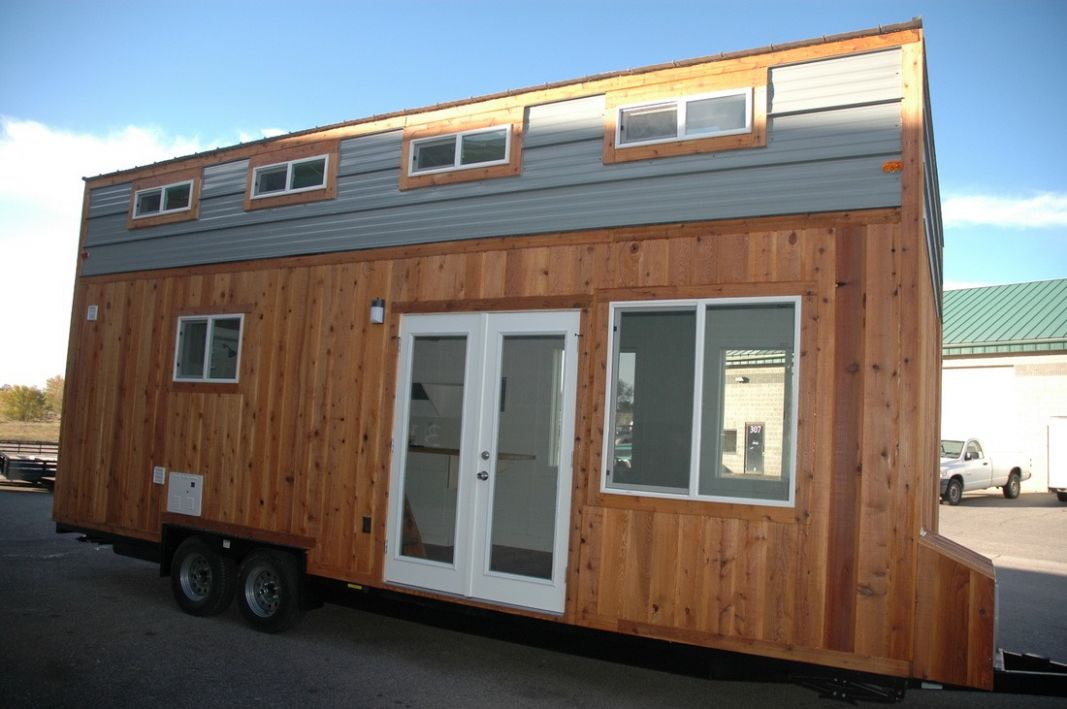 12' Tiny House RV with Shed-style Roof by Tiny Idahomes