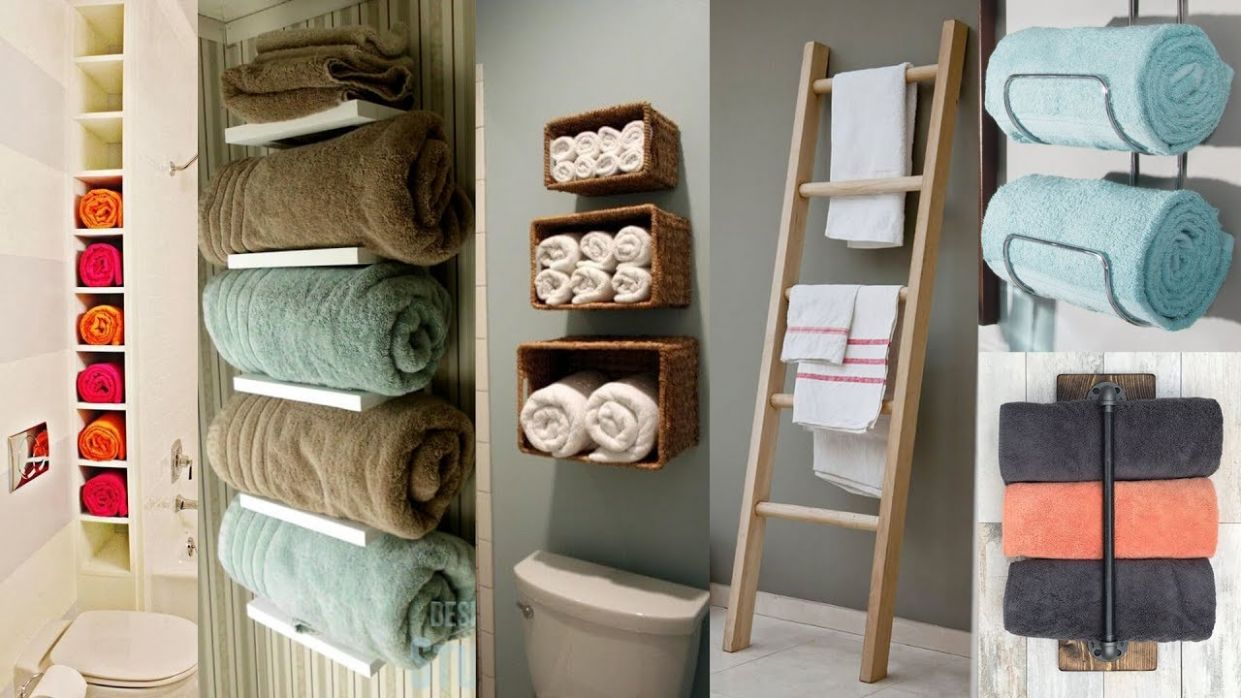 12 Towel Display Ideas for Trendy Bathrooms