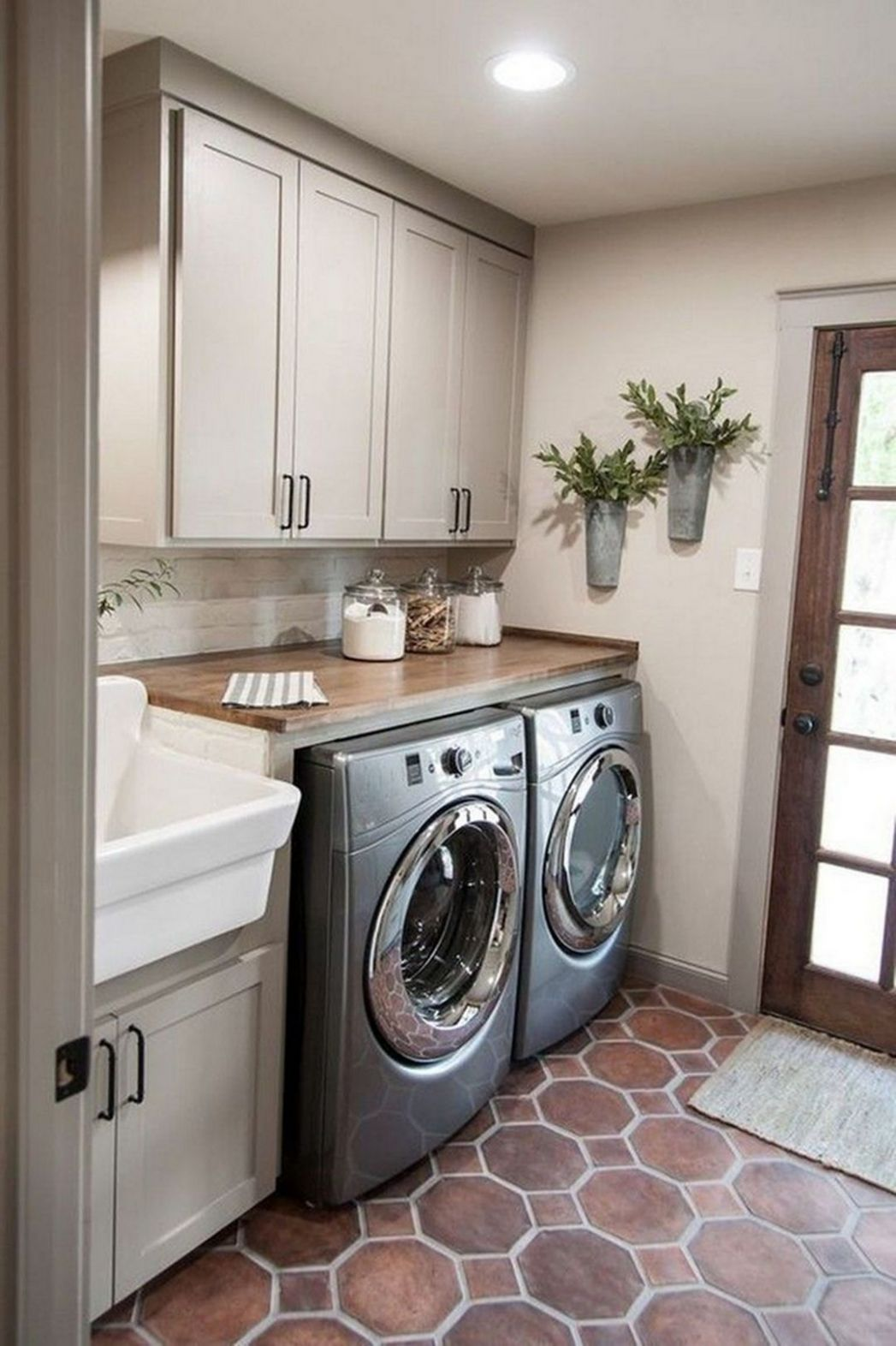 12+ Trendy Small Laundry Room Design Ideas To Try Asap - GAGOHOME - laundry room remodel ideas