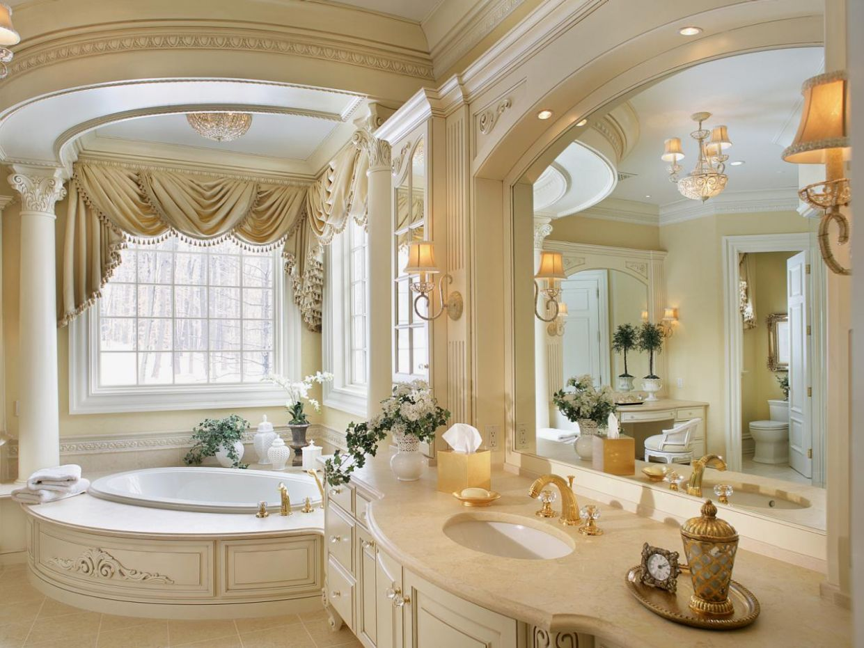 12 Ultimate Romantic Bathroom Design