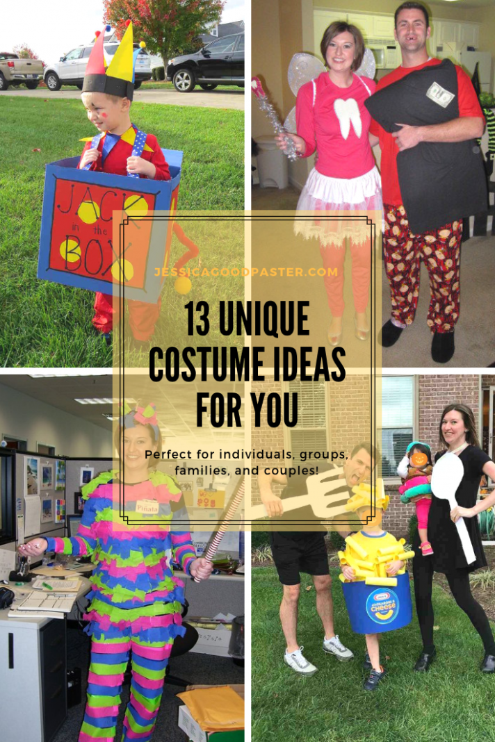 12 Unique Halloween Costume Ideas that are Perfect for You ..