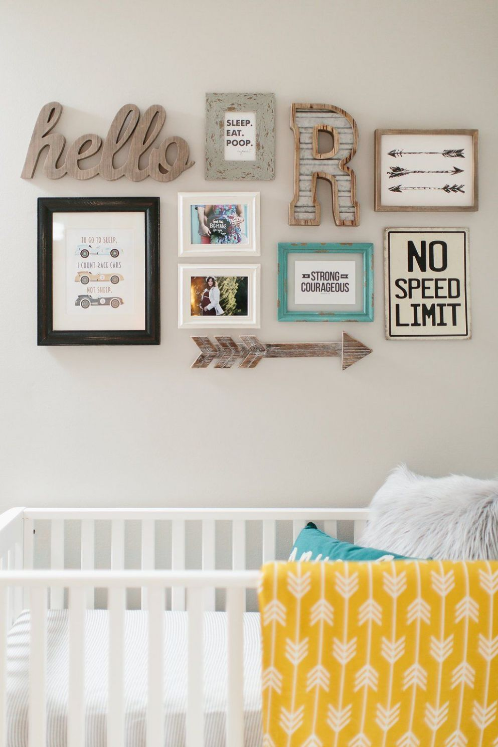 12 Ways to Bring Your Gallery Wall to The Next Level! | Race car ..
