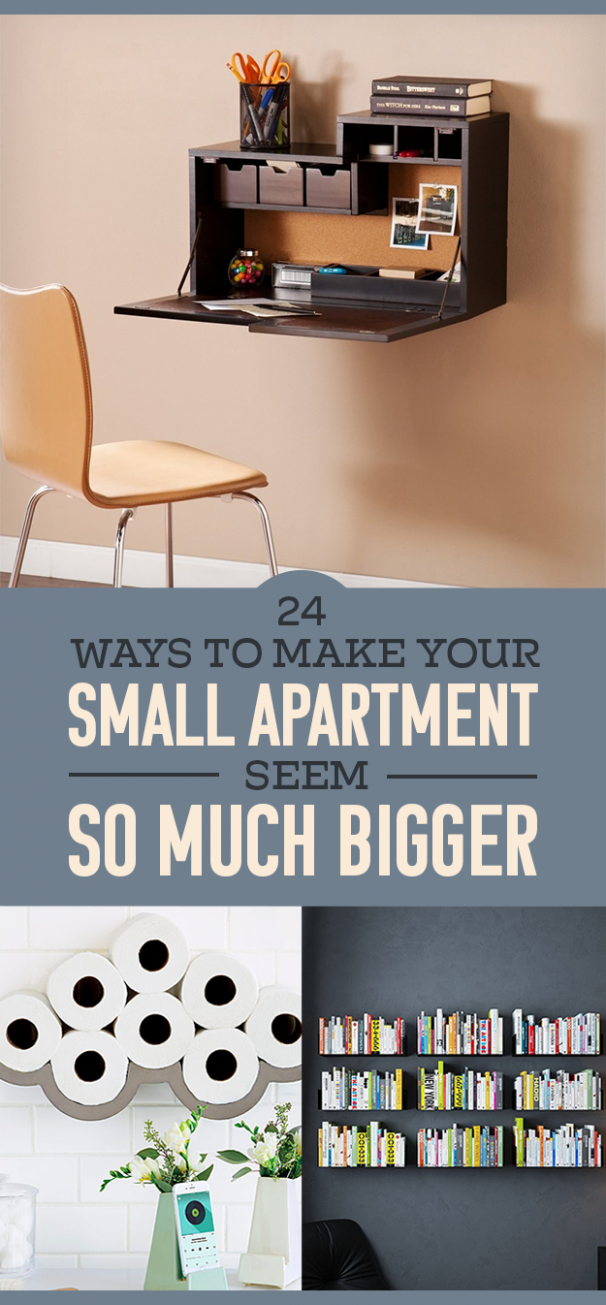 12 Ways To Make Your Small Apartment Seem So Much Bigger - apartment decorating ideas buzzfeed