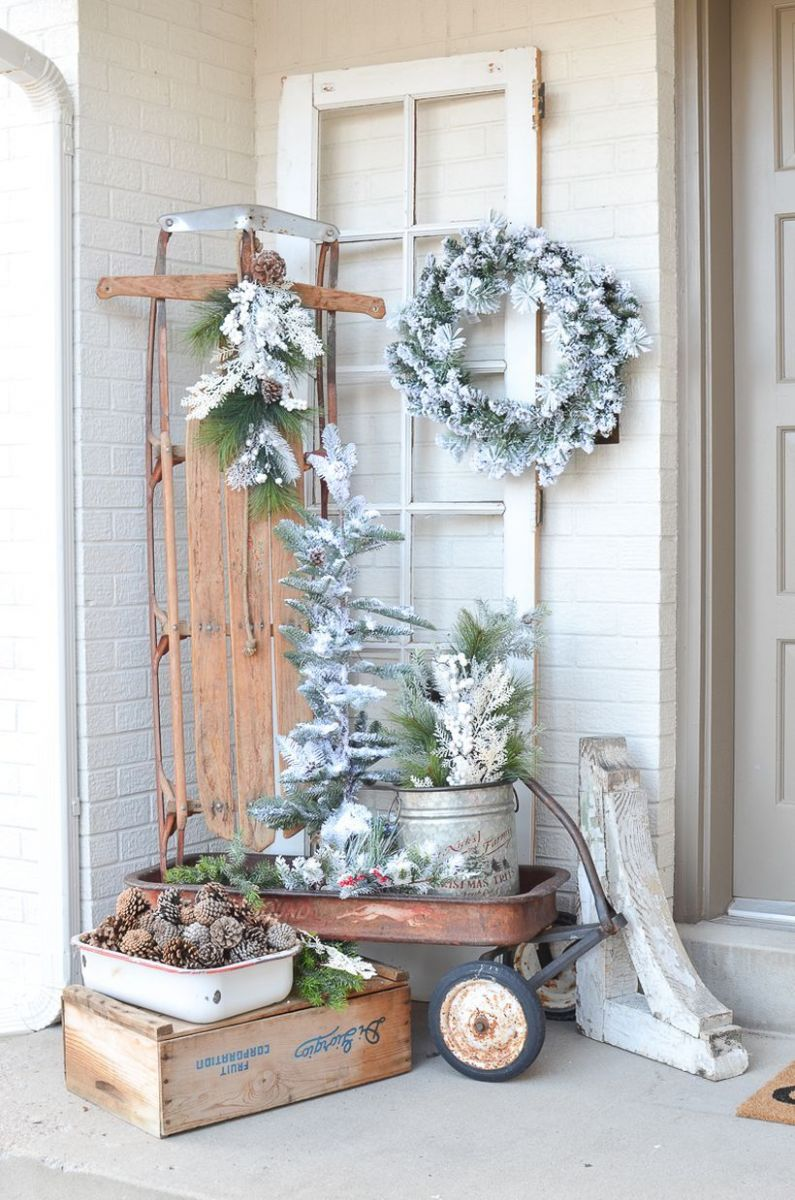 12 Ways to Transition Outdoor Decor to Holiday Winter Decor ...