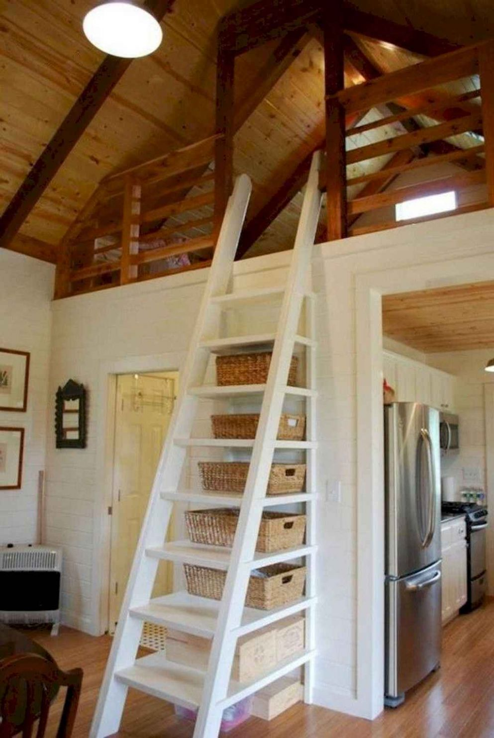 8 amazing loft stair for tiny house ideas - HomeSpecially - tiny house stairs