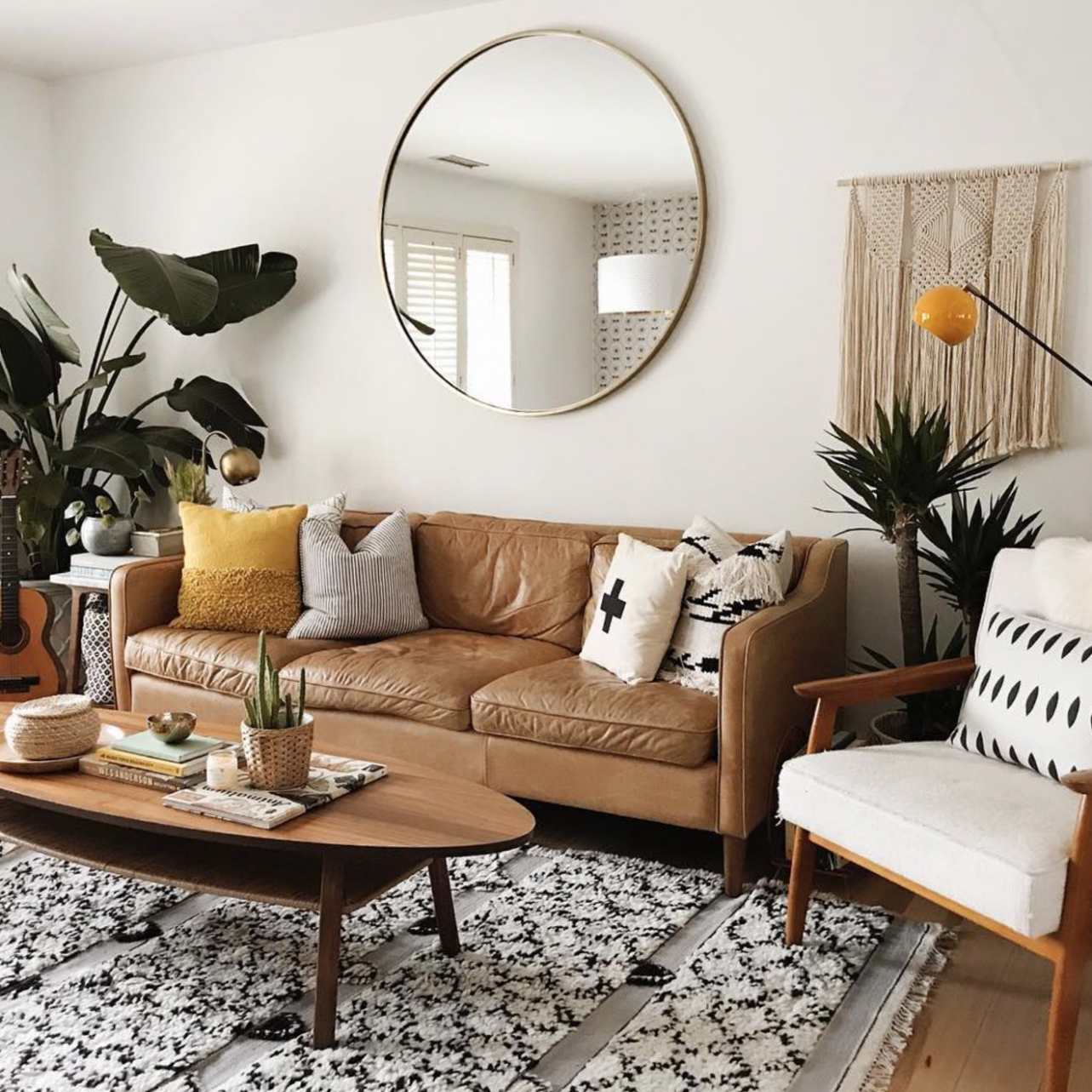 8 Apartment Decorating and Small Living Room Ideas | The Anastasia Co