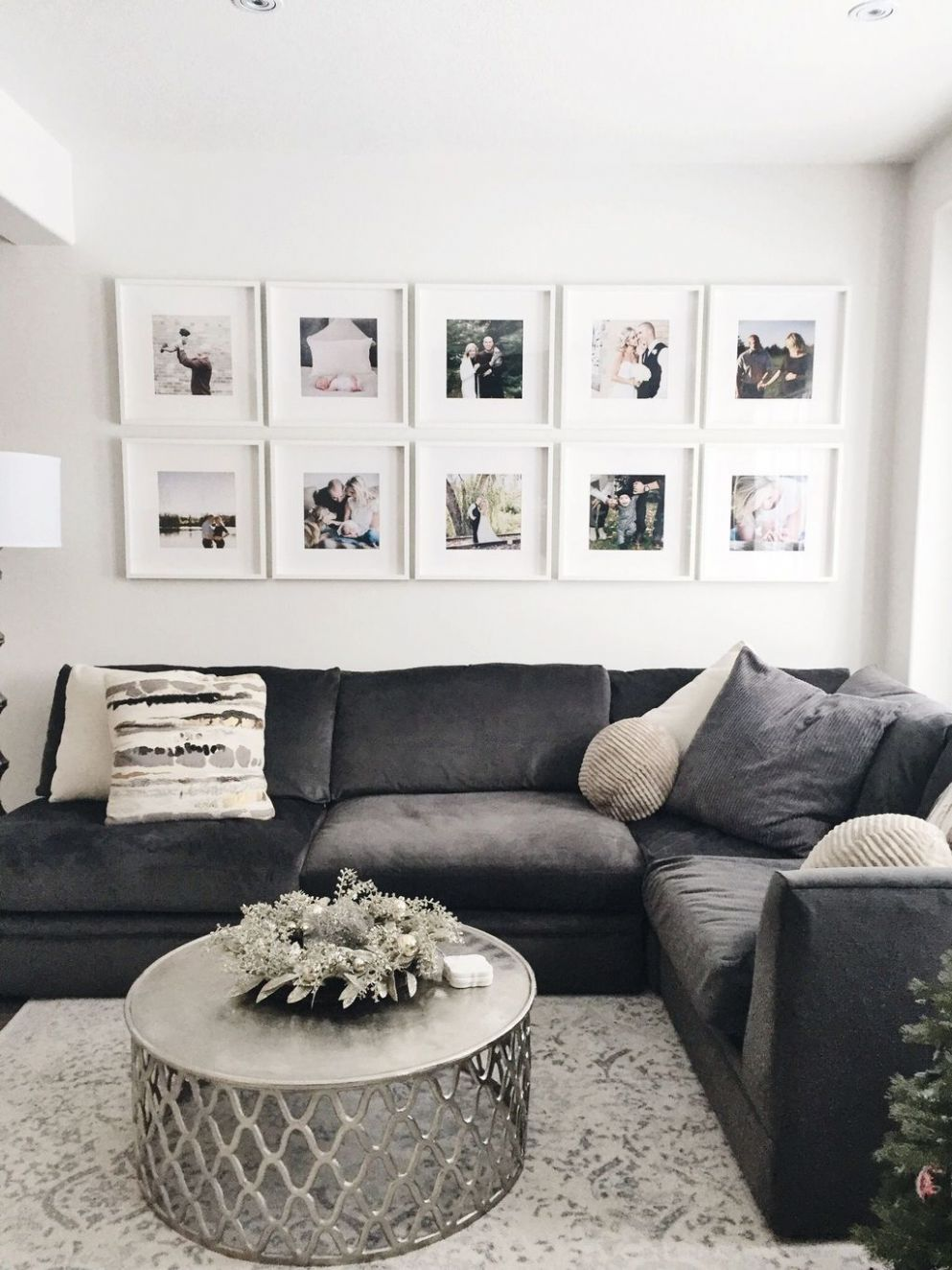 8 Awesome Gallery Wall Design Ideas | Home living room, Living ...