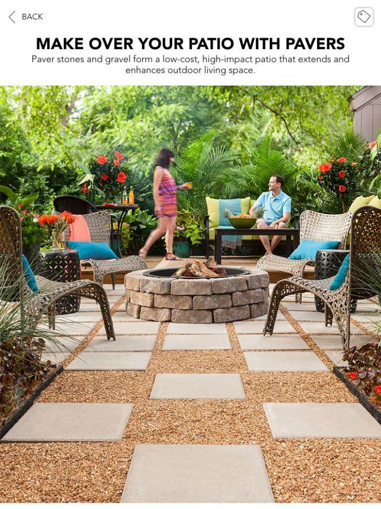 8 Awesome Ideas How to Improve Lowes Backyard Ideas | Pea gravel ..
