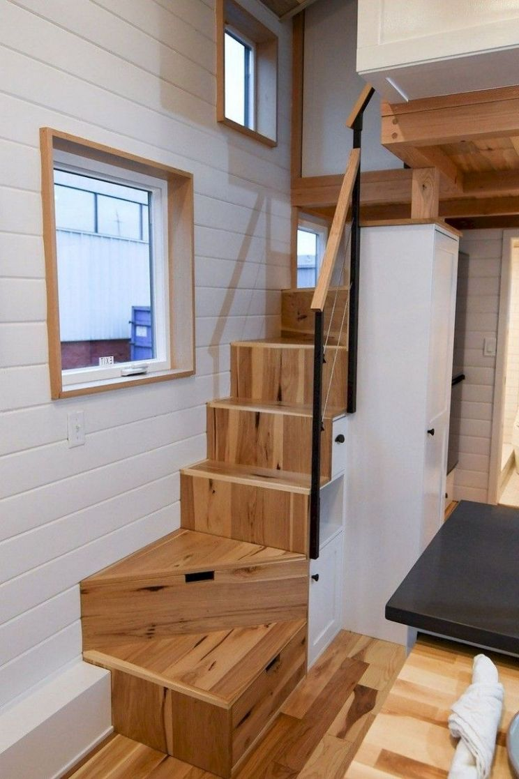8 Awesome Tiny House Loft Stair Ideas - Page 8 of 8 (With ..