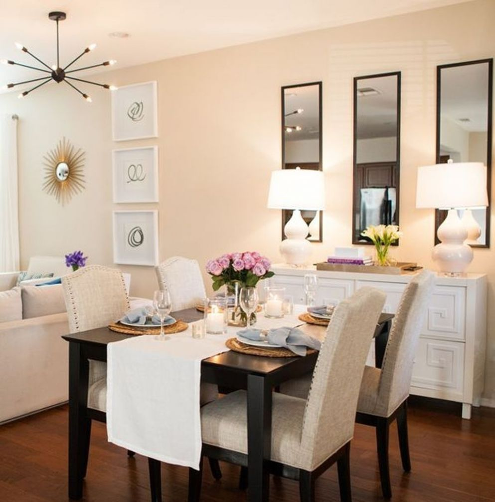 8 Awesome Wall Mirror Design Ideas For Dining Room | Apartment ..