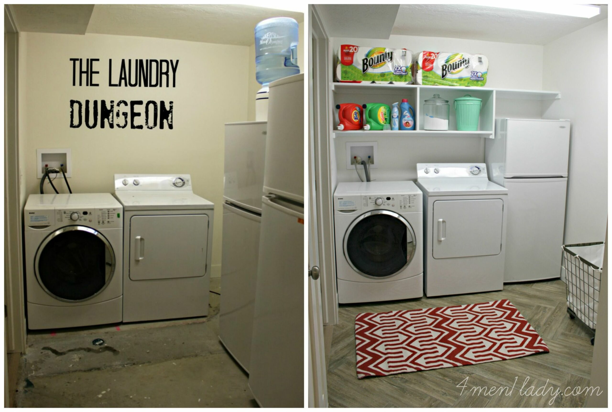 8 Basement Laundry Room ideas for Small Space (Makeovers ..