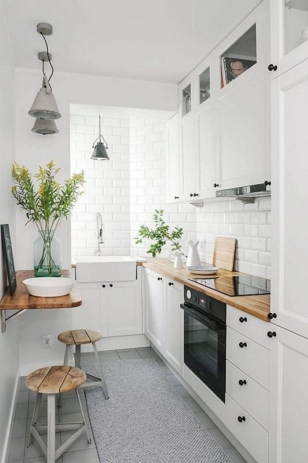 8 Beautiful Tiny Kitchen Decorating Ideas for Your Apartment ..