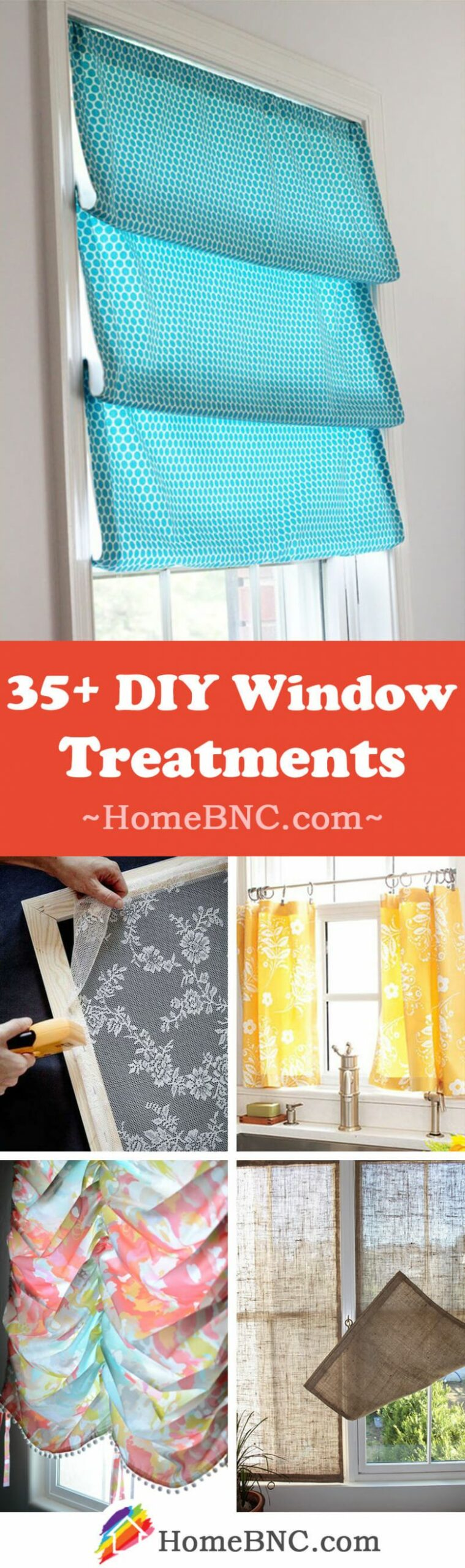 8+ Best DIY Window Treatment Ideas and Desings for 8 - window shade ideas for your home