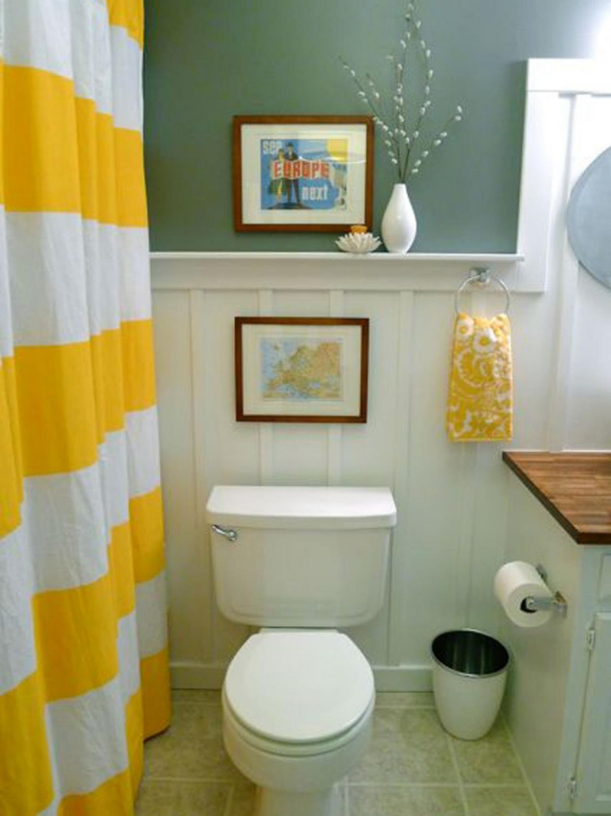 8 Best Yellow Bathroom Ideas That Make The View Even More ..