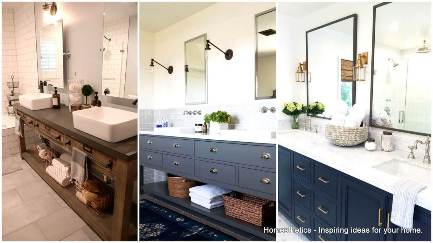 8 Double Vanity Bathrooms That Will Make Your Lives Easier ..