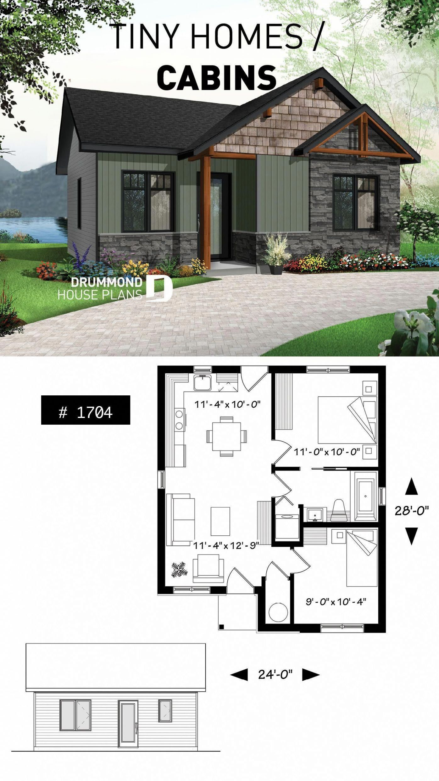 8 Free DIY Tiny House Plans to Help You Live the Small & Happy ..
