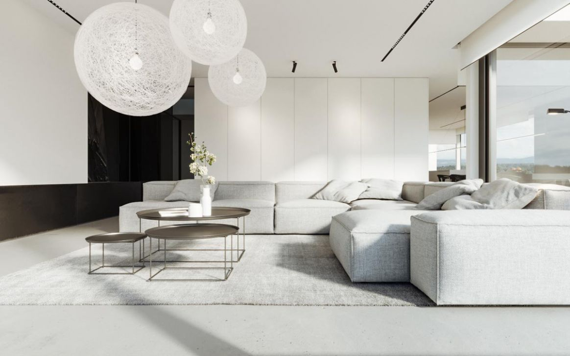 8 Gorgeously Minimalist Living Rooms That Find Substance in ..
